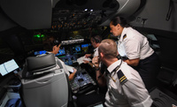 Qantas_100_ohjaamo